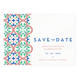 Peranakan Mosaic - Save The Date