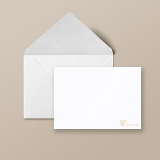 Personalised Note Cards with Name & Motif