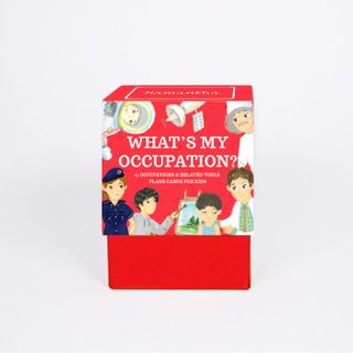 Personalised Occupations Flash Cards
