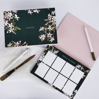 Weekly Planner - Woodland Blossoms